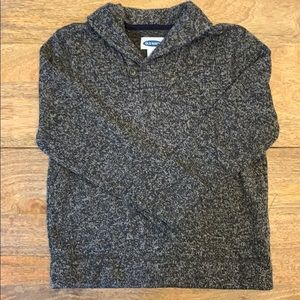 Old Navy Button Collar Sweater
